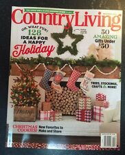 Country Living Holiday Ideas Gifts Under $50 Christmas Dec 2015 FREE SHIPPING!