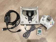 SEGA Dreamcast Console with GDEMU 128GB SD Card Controller HDMI Output Kit 220V