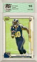 Todd Gurley 2015 Topps Take it to the House #20 Rookie Card PGI 10