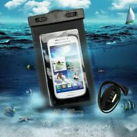 2x Underwater Waterproof Dry Bag Pouch Case For iPhone Samsung Cell Phone Black