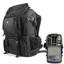 DSLR SLR Camera Lens Padded Bag Backpack Rucksack Laptop Bag For Canon Nikon New