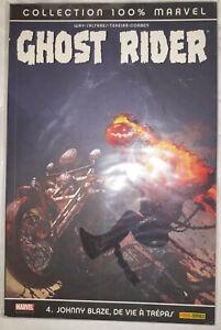 Ghost rider 4 - Johnny Blaze, de vie à trépas - 100% Marvel - 2008 - Comics