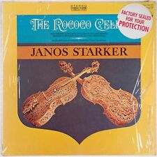 ROCOCO CELLO: Janos Starker EVEREST Shrink VINYL LP NM-