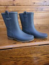 Women's Tretorn Silver/Gray Waterproof Rain Boots 35 / 5 USA