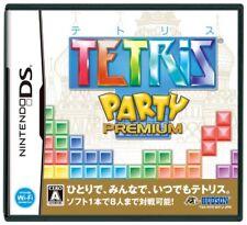 USED  Nintendo DS Tetris Party Premium game soft