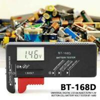 Portable Universal Battery Tester Tool AA AAA C D 9V Button Checker G3J0