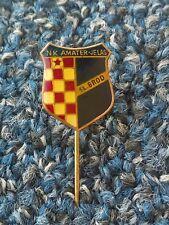 NK AMATER JELAS SL. BROD, Croatian ex Yugoslavia football club, vintage pin !