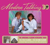 MODERN TALKING - THE FIRST & SECOND ALBUM (30TH ANNIVERSARY EDI 3 CD NEU