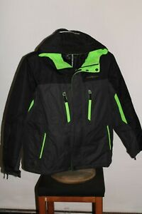 ZEROXPOSUR BOYS Large L 14/16 insulated hooded Snowboard/snow Jacket