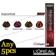 Any 5pcs L'Oreal Majicontrast Permanent Colour Hair Dye 50ml