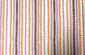 1/8 Yard Hope Valley Denyse Schmidt Designs Orange Purple Stripe Cotton Fabric