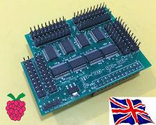 Rs-Pi i/o io I2C 23017 x8 128 gpio board pour Raspberry Pi A/b & b + B2 B3