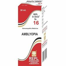 REPL Dr. Advice No 16 (Amblyopia) (30ml) Floaters in Eyes,Vision problems(Noctur