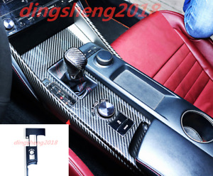 Carbon Fiber Gear Shift Box Panel Trim For Lexus IS200t/250/300 2017-2018