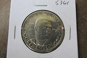 1946 BTW (BOOKER T WASHINGTON) COMMEMORATIVE HALF DOLLAR 50c SILVER COIN #S361