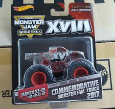 Hot wheels 2017 monster jam World Finals Truck 1/2500