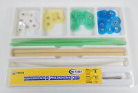 1Kit Dental Interproximal Polishing Finishing Discs 14mm Wheel+Strips Universal