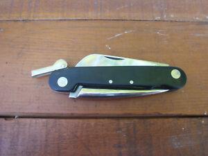 Vintage Unsharpened Camillus Marlin Spike Folding Pocket Knife