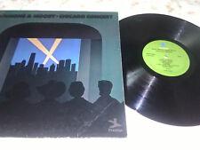 Gene AMMONS & JAMES MOODY Chicago concert Prestige Vinyl LP-VG/VG
