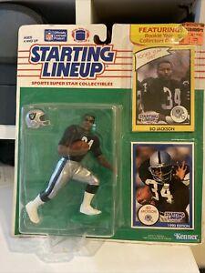 BO JACKSON 1990 Starting Lineup football Collectible Oakland Raiders NM