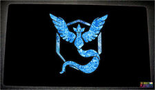 FREE SHIPPING Custom Pokemon Playmat Pokemon Go Team Mystic Playmat TCG Yugioh