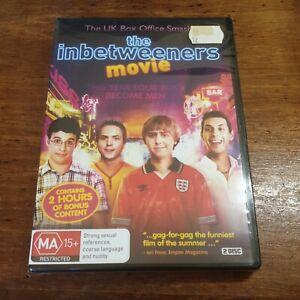 The Inbetweeners Movie DVD R4  BRAND NEW SEALED!