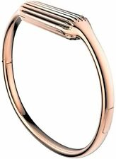 Fitbit Flex 2 Metal Accessory Bangle - Rose Gold, Size Small