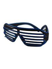 Shutter Atzen Rasterbrille LED-Brille Partybrille Leuchtbrille Spassbrille