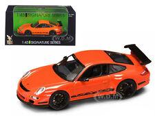 PORSCHE 911 997 GT3 RS ORANGE 1/43 DIECAST CAR MODEL BY ROAD SIGNATURE 43204