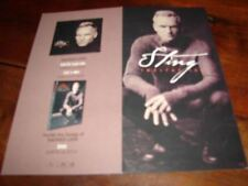 STING  SACRED LOVE RARE FRENCH CONCERT VIP PASS!!!!!!!!