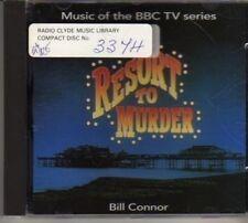 (CD299) Bill Connor, Resort To Murder - 1995 CD