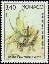 """MONACO N° 1572 """"FAUNE, INSECTES, SAUTERELLE VERTE"""" xxTTB"""