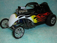 1/18 SCALE DIECAST ???? FIAT DRAGSTER IN BLACKFLAMES BY ACME GMP.