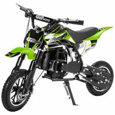 49cc 2-Stroke Gas Motorized Mini Dirt Bike Pocket Bike Pit Scooter Bike Green