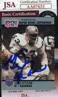 Gene Upshaw 1990 Pro Set Jsa Coa Hand Signed Authentic Autograph