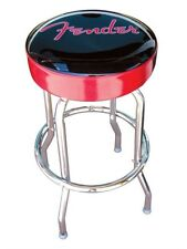 "NEW - Fender 24"" Black and Red Fender Logo Barstool - 099-0205-020"