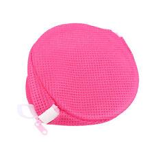Rose Red Small Mesh Bag Women Bra Laundry Lingerie Washing Hosiery Saver