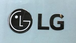 MFT62346508 LG Appliance Logo Name Plate Sticker OEM Replacement