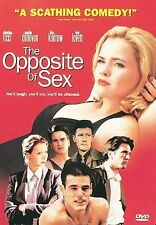 The Opposite of Sex (DVD, 1998, Closed Caption Subtitled French) W/SCENE INSERT