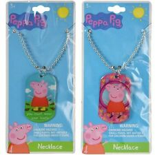 "Party Favors E-ONE Peppa Pig Dogtag Necklace 18""- 1 Pc"