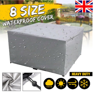 Heavy Duty Waterproof Patio Garden Furniture Cover Outdoor Large Rattan Table XL