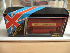 Solido Bus Londonien Double Decker in Red on 1:43 in Box