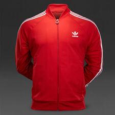 LG adidas Originals MEN'S Superstar Track Jacket COL RED M30906  ONLY 1 on EBAY!