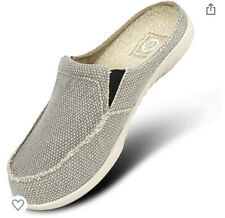Gecko Man Walk Hero Comfort Support Canvas Slip On Shoes Slippers Men's Size 13