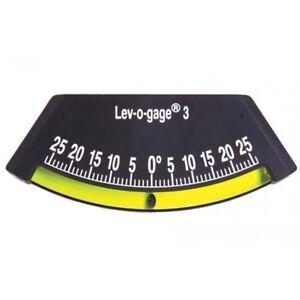 Sun Company Industrial Lev-o-Gage 3 - Glass Tube Inclinometer