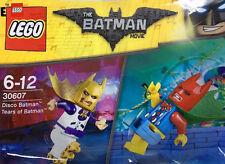Rare dc lego (30607) - disco & larmes de batman MOVIE minifigures new, rare film