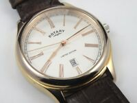 Gents Rotary GS00271/21 Limited Edition Gold-plated Case Watch - 100m
