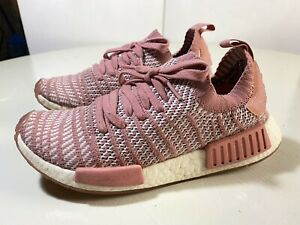 Adidas Original NMD_R1 STLT PrimeKnit BOOST Women SIZE 9 Running Shoes CQ2028