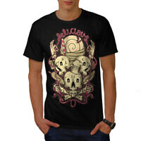 Wellcoda Sweets Bakery Happy Mens T-shirt, Dead Graphic Design Printed Tee