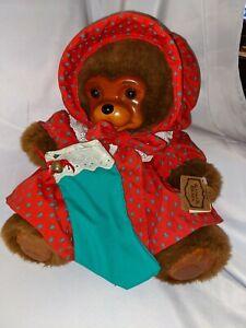 Robert Raikes Original Bear Christmas Dress Nicolette Tag Box